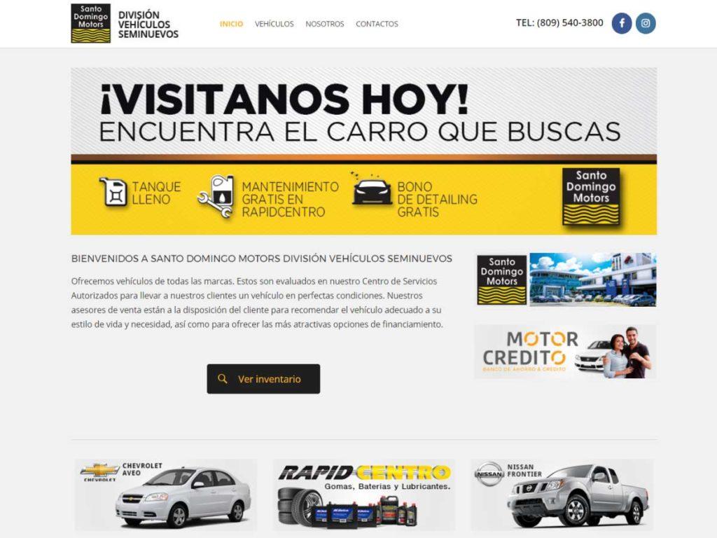 Santo Domingo Motors. Artes ...